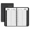 "At-A-Glance Daily Appointment Book Planner - Julian - Daily, Monthly - 1 Year - January 2017 till December 2017 - 7:00 AM to 7:45 PM, 9:00 AM to 4:45 PM - 2 Month Double Page Layout - 4.88"" x 8"" - Wir"