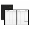 "At-A-Glance Weekly Appointment Book - Weekly - 1.1 Year - January 2017 till January 2018 - 7:00 AM to 8:45 PM, 7:00 AM to 5:30 PM - 1 Week Double Page Layout - 10.88"" - Wire Bound - Leather - Black -"