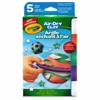 Crayola Air Dry Clay Bright Colors Variety Pack - 5 / Box - White, Emerald, Violet, Coral