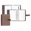 At-A-Glance Legacy Compact Planner - Julian - Weekly, Monthly, Daily - 1 Year - January till December - 8:00 AM to 5:00 PM - 1 Week, 1 Month Double Page Layout - 7-ring - Tab Closure - Canvas - Assort