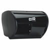 Genuine Joe Solutions Bath Tissue Dispenser - Roll - 2000 x Sheet - Black - Sliding Door