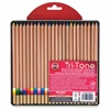 Koh-I-Noor Tri-Tone Multi-colored Pencils - Assorted Lead - 24 / Set
