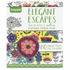Crayola Elegant Escapes Coloring Book Coloring Printed Book - Published on: 2015 - Softcover - 80 Pages