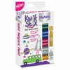 Kwik Stix Tempera Paint Metalix Sticks - 6 / Each - Assorted, Metallic