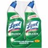 Lysol Bowl Cleaner w/Bleach Pack - 0.19 gal (24 fl oz) - 12 / Carton - Blue
