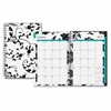 Clear Cover Wkly/Mthly Barcelona Planner - Julian - Weekly, Monthly, Daily - 1 Year - January till December - 1 Month, 1 Week Double Page Layout - Twin Wire - Clear - Multi-colored - Tabbed,