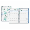 Blue Sky Small Weekly/Monthly Lindley Frosted Planner - Small Size - Julian - Weekly, Monthly, Daily - 1 Year - January till December - 2 Week, 2 Month Double Page Layout - Twin Wire - Multicolor, Fro