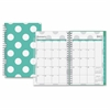 Small Wkly/Mthly Penelope Clear Planner - Small Size - Weekly, Monthly, Daily - 1 Year - January till December - 2 Week Double Page Layout - Twin Wire - Clear, Multicolor - Tabbed, Writable S