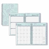 Blue Sky Rue Du Flore Small Frosted Planner - Small Size - Weekly, Monthly, Daily - 1 Year - January till December - 2 Month, 2 Week Double Page Layout - Twin Wire - Frosted, Multicolor - Tabbed, Writ