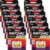 Rayovac Fusion Alkaline 9V Batteries - 9V - Alkaline - 9 V DC - 24 / Carton