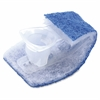 Scotch-Brite Disposable Toilet Scrubbers Refill - 10/Box - Blue, White
