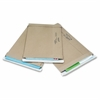 "Utility Mailers - Shipping - #5 - 10.50"" Width x 10.75"" Length - Self-sealing - Kraft, Paper - 100 / Carton - Natural Kraft"