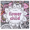 Flower Child Adult Coloring Book Coloring Printed Book - Book - 46 Pages