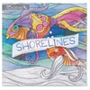 Shorelines Adult Coloring Book Coloring Printed Book - Book - 46 Pages