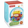 Fisher-Price Baby's First Blocks - Ten Colorful Shape Blocks - Big Bucket with Easy Carry Handle for Easy Take Along cks