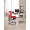 """ES Robbins Linear Rectnglr Chairmat - 48"""" Length x 36"""" Width - Rectangle - Clear"""