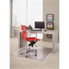 "ES Robbins Linear Rectnglr Chairmat - 53"" Length x 45"" Width - Rectangle - Clear"