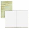 "Blue sky Blue Sky Gold Geo Bookbound Notebook - 80 Sheets - Book Bound - 5"" x 8"""