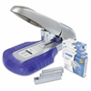 "Rapesco AV-69 Heavy-Duty Stapler w/ Staples Set - 115 Sheets Capacity - 9/16"", 923/15mm Staple Size - Silver, Purple"