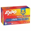 Sanford Expo Dry Erase Ink Indicator Marker - Chisel Point Style - Blue - 1 Each