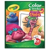Trolls Color/Sticker Book - 1 Each - Multicolor