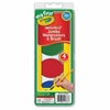 My First Washable Jumbo Watercolors Set - 5 / Set - Red, Blue, Green, Yellow