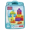 Basic Building Block 20-piece Set - Theme/Subject: Learning - Skill Learning: Number, Counting, Imagination, Construction, Building - 20 Pieces
