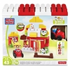 Farmhouse Friends Building Blocks Set - Theme/Subject: Animal, Fun - Skill Learning: Imagination, Farm, Building - 43 Pieces