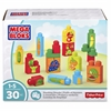 Mega Bloks Stacking Snacks Building Blocks Set - Theme/Subject: Learning, Food - Skill Learning: Building, Matching, Stacking, Motor Skills, Problem Solving, Fruit & Vegetable - 30 Pieces