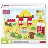 Barnyard Buddies Building Blocks Set - Theme/Subject: Learning, Fun - Skill Learning: Building, Farm, Imagination, Motor Skills, Problem Solving - 40 Pieces