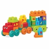 Mega Bloks ABC Learning Train Play Set - Theme/Subject: Learning - Skill Learning: Letter, Alphabet, Word Building, Motor Skills, Problem Solving