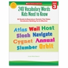 Grade 3 Vocabulary 240 Words Book Education Printed Book by Linda Ward Beech - Book