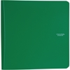 "Five Star 1"" Plastic Binder (29182) - 1"" Binder Capacity - 3 x Ring Fastener(s) - 2 Pocket(s) - 1 Divider(s) - Plastic - Green - 1 Each"