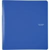 "Five Star 1"" Plastic Binder (29182) - 1"" Binder Capacity - 3 x Ring Fastener(s) - 2 Pocket(s) - 1 Divider(s) - Plastic - Blue"