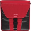 "Five Star Vertical Flip 2"" Zip Binder - 2"" Binder Capacity - 580 Sheet Capacity - 3 x Ring Fastener(s) - 5 Pocket(s) - Red - 1 Each"