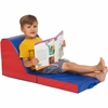 "ECR4KIDS Softzone Carry Me Chaise Lounge, 2-Piece - 34"" x 15"" x 14"""