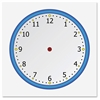 Flipside Static Cling Blank Clock Face - Theme/Subject: Learning - Skill Learning: Timing
