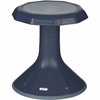 "ECR4KIDS 15"" ACE Stool - Rounded Base - Navy - Polypropylene, Plastic - 13"" Width x 13"" Depth x 15"" Height"