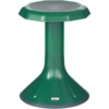 "ECR4KIDS 18"" ACE Stool - Rounded Base - Green - Polypropylene, Plastic - 13"" Width x 13"" Depth x 18"" Height"
