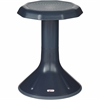 "ECR4KIDS 18"" ACE Stool - Rounded Base - Navy - Polypropylene, Plastic - 13"" Width x 13"" Depth x 18"" Height"