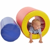 ECR4KIDS Softzone Barrels of Fun - Polyurethane Foam, Vinyl