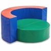 ECR4KIDS SoftZone Cuddle Corral - Multi-colored - Vinyl, Polyurethane Foam