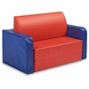 "Early Childhood Resources SoftZone Convertible Kids Couch - Vinyl, Polyurethane Foam - 22"" Width x 20"" Depth x 37"" Height"