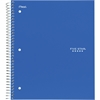 Wirebound 1-subject Notebook - Printed - Wire Bound - Wide Ruled - 1Each