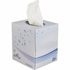 Livi VPG Facial Tissues - 2 Ply - White - Virgin Fiber - Embossed, Absorbent - For Business, Restaurant, Hotel - 90 Sheets - 36 / Carton