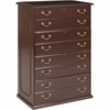 "DMi Governor's Lateral File - 36"" x 22"" x 56"" - 4 - Material: Wood - Finish: Laminate, Mahogany"