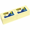 "Post-it® Pop-up Dispenser Notes, 3""x 5"", Canary Yellow - 100 - 3"" x 5"" - Rectangle - 100 Sheets per Pad - Unruled - Canary Yellow - Paper - Pop-up, Self-adhesive, Repositionable - 100 / Pad"