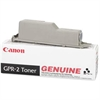 GPR-2 Black Toner Cartridge for imageRunner 330 and 400 Copiers - Laser - 10600 Page - 1 Each