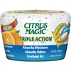 Citrus Magic Triple Action Air Freshener - 12.8 fl oz (0.4 quart) - Fresh Citrus - 6 / Carton - Odor Neutralizer