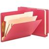 "Smead End Tab Colored Classification Folders - Letter - 8 1/2"" x 11"" Sheet Size - 2"" Expansion - 2 Fastener(s) - 2"" Fastener Capacity for Folder - 2 Divider(s) - 18 pt. Folder Thickness - Pressboard -"